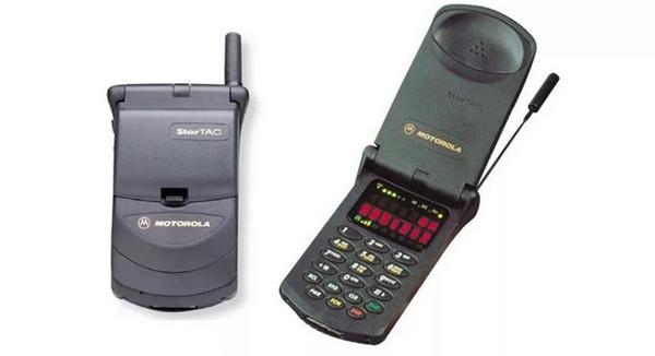 1996年——摩托罗拉StarTac翻盖手机颠覆市场