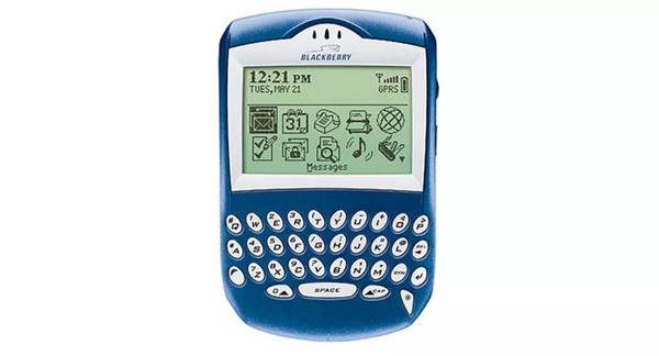 2003年——黑莓6210智能手机发布