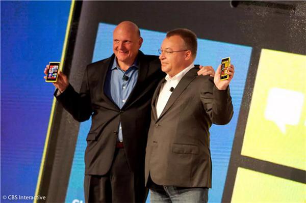 微软72亿收购诺基亚手机部门