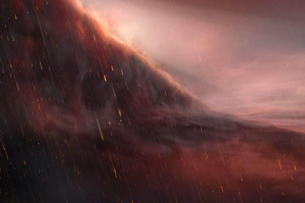"""天文學家發現下著""""鐵雨""""的奇異行星"""