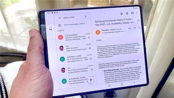 三星Galaxy Z Fold 2完整评测