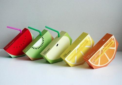 超萌的饮料包装设计欣赏