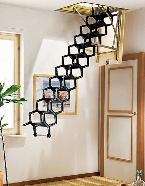 24个时尚的创意楼梯设计欣赏