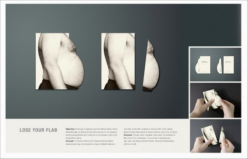 18个健身减肥创意广告欣赏