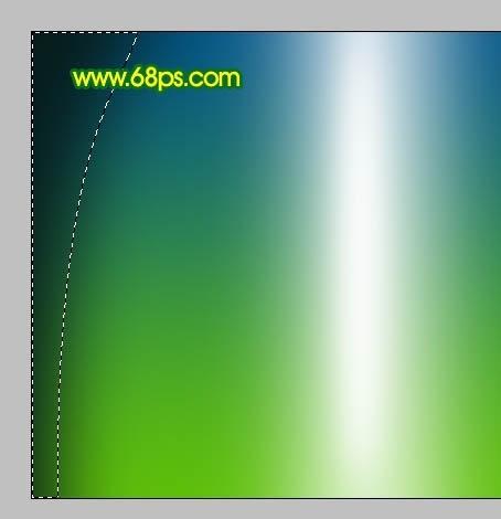 款梦幻绿光壁纸