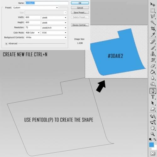 Photoshop建造一个精细的文件夹图标