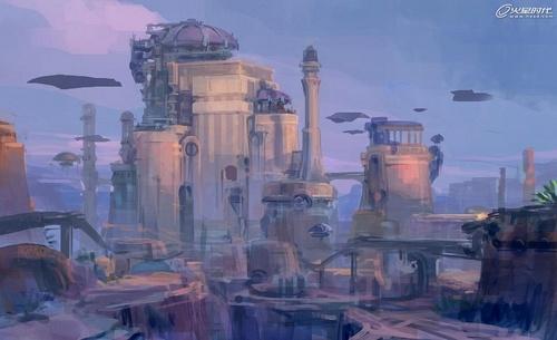 《未来城堡》概念设计解析图片